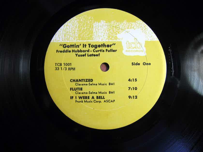Freddie Hubbard, Curtis Fuller, Yusef Lateef - Gettin' It Together Vinyl LP NM- Reissue TCB Records TCB 1001