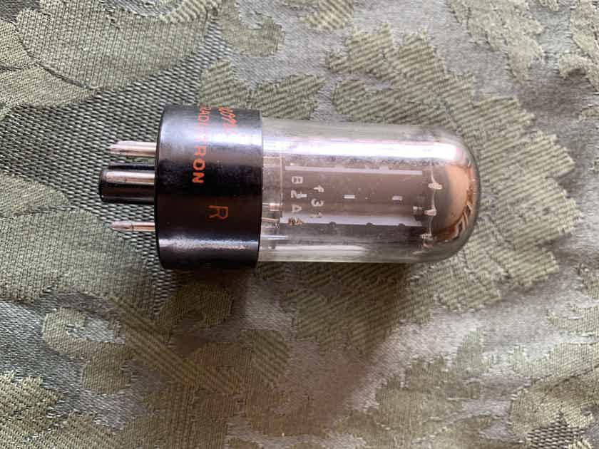 Mullard Blackburn f31 5AR4 GZ34 test NOS HOLY GRAIL