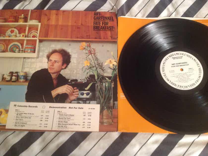 Art Garfunkel  Fate For Breakfast White Label Promo LP