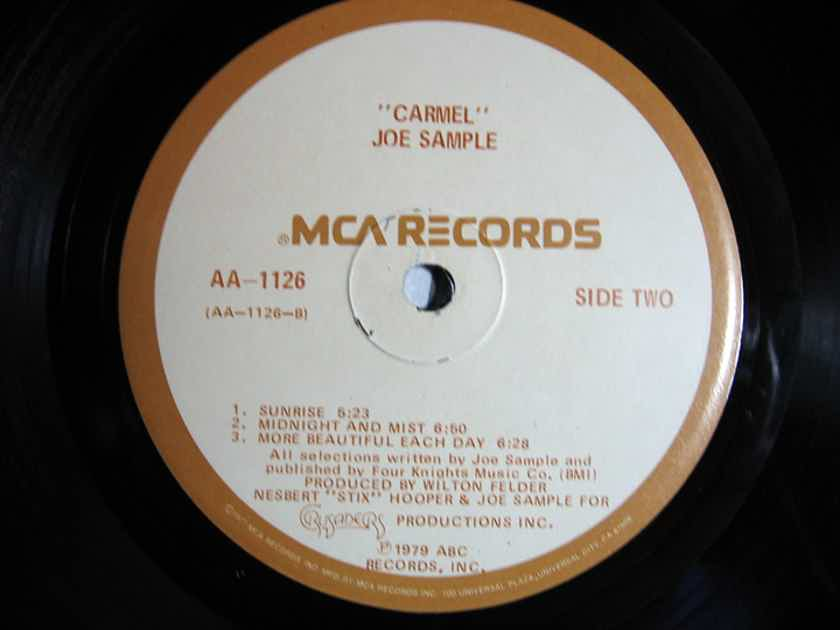 Joe Sample - Carmel - 1979 ABC Records AA-1126