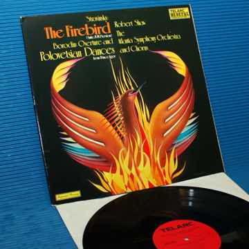 "STRAVINSKY / Maazel - ""The Firebird"" -  Telarc 1978 Ger..."