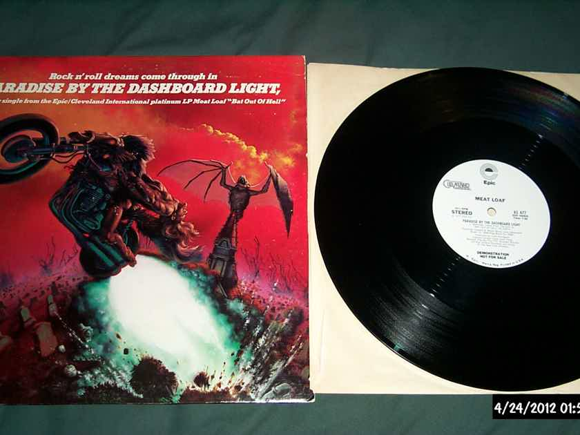 Meatloaf - Paradise By The Dashboard Lights 3 Tracks Epic Cleveland International Records Promo Only 12 Inch NM