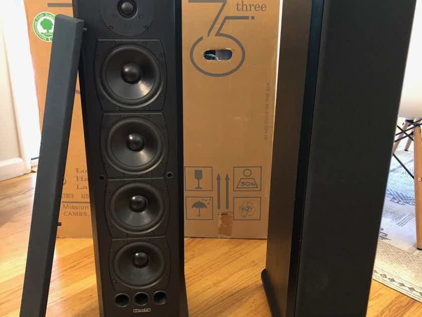 Mission 753 Reference Tower Speakers – Good condition!