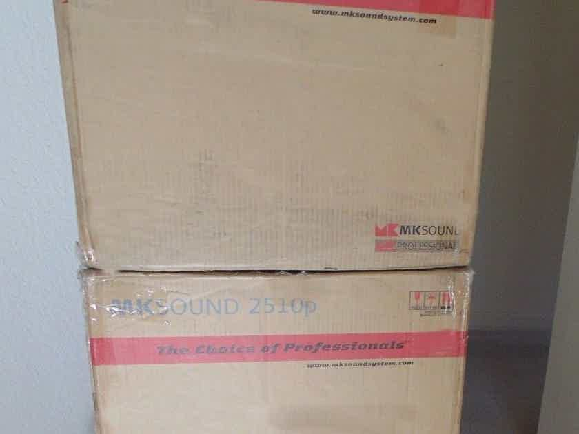M&K Sound MPS-2510P Left/ Center/ Right a set of 3 Speakers New, sealed in Original Boxes