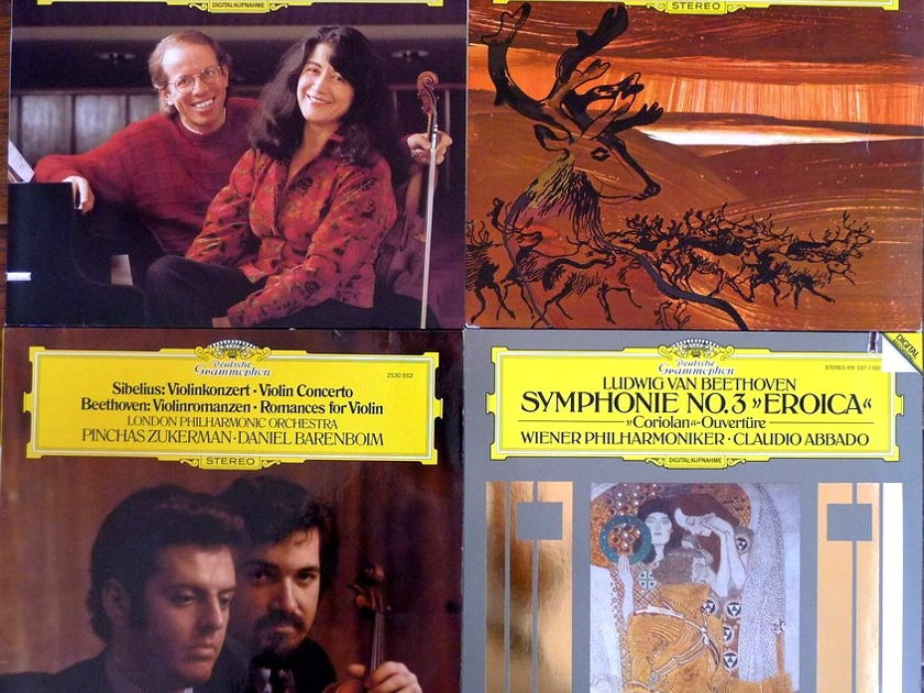 Classical LP Records All European Imports, Audiophile, All M/NM DG/Philips/London etc., Total of 60 LPs