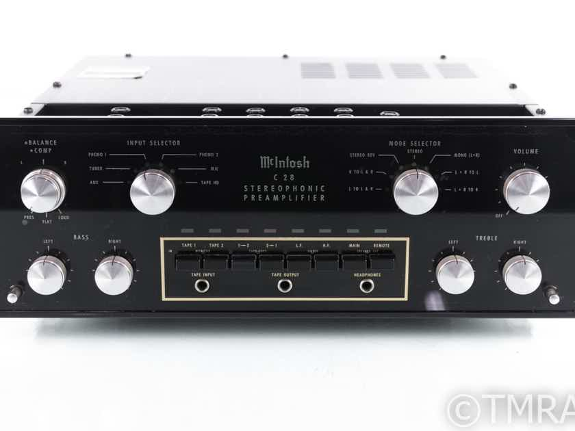 McIntosh C-28 Vintage Stereo Preamplifier; C28; MM Phono (20375)