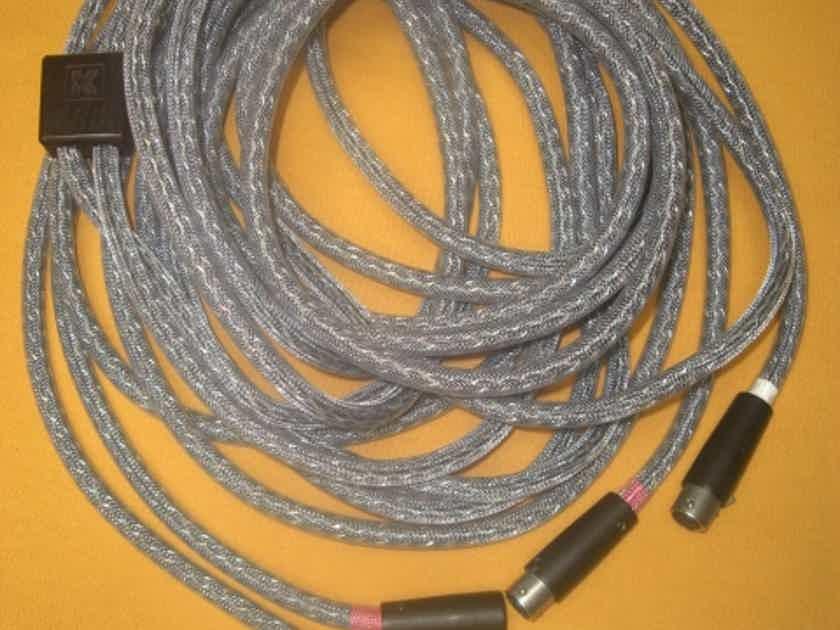 KIMBER KABLE SELECT KS-1126 INTERCONNECTS *SUPER LONG 5 METER PAIR* W/XLRs ORIG PELICAN BOX
