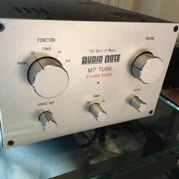 Kondo AudioNote Japan M7 with phono + step up