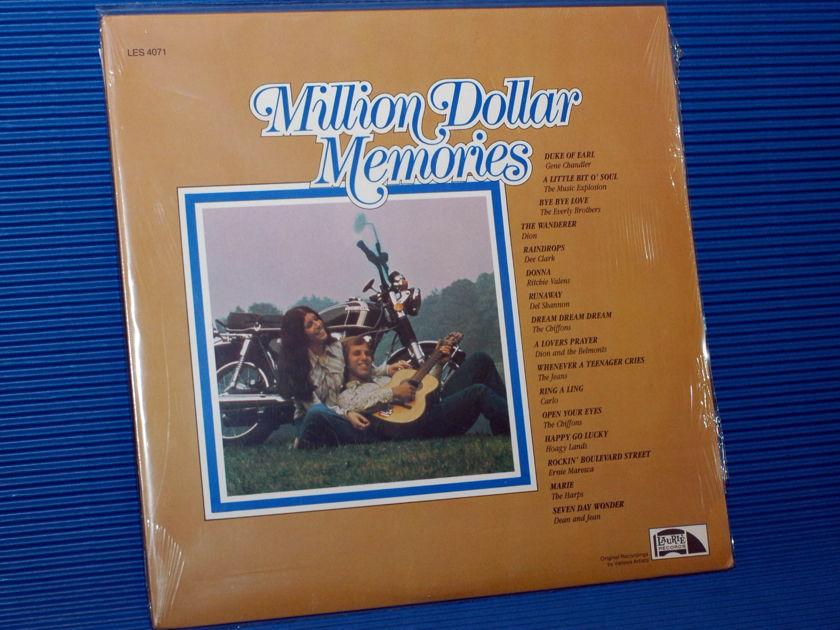 """VARIOUS OLDIES   - """"Million Dollar Memories"""" -  Laurie 1985 Sealed"""