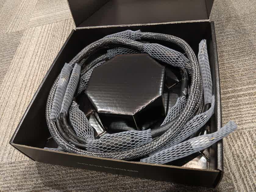 Ansuz Acoustics Speakz Diamond Speaker Cables (2.0m pair, Spade/Banana)