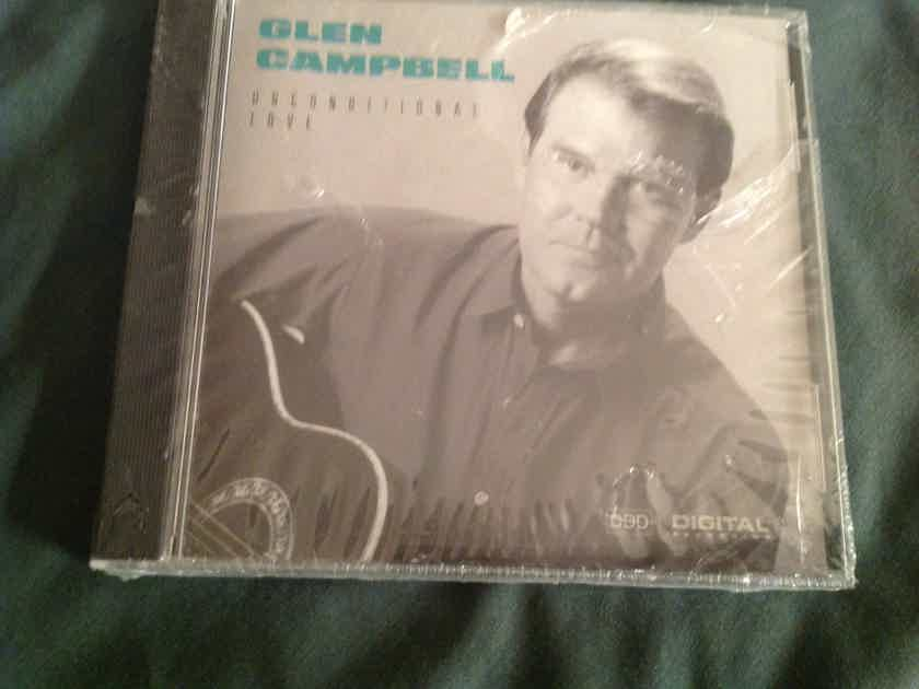 Glen Campbell  Unconditional Love Capitol Records Sealed Compact Disc