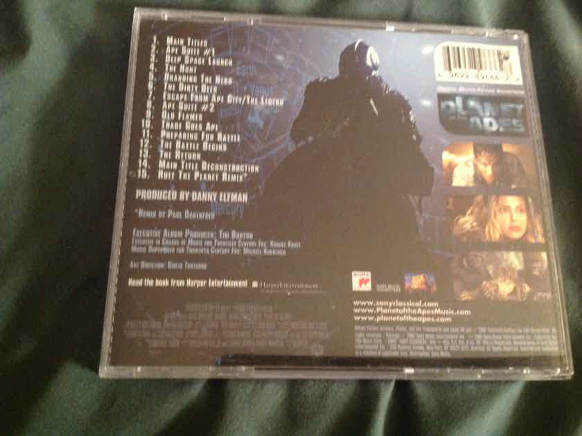 Danny Elfman Planet Of The Apes Soundtrack