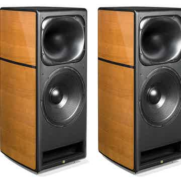 UNISON RESEARCH Max 2 Loudspeakers (Cherry): NEW-In-Box...