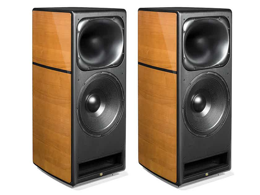 UNISON RESEARCH Max 2 Loudspeakers (Cherry): NEW-In-Box; Full Wrnty; 50% Off