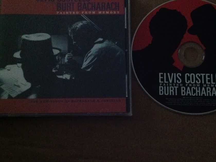 Elvis Costello Burt Bacharach - Painted From Memory Mercury Records HDCD