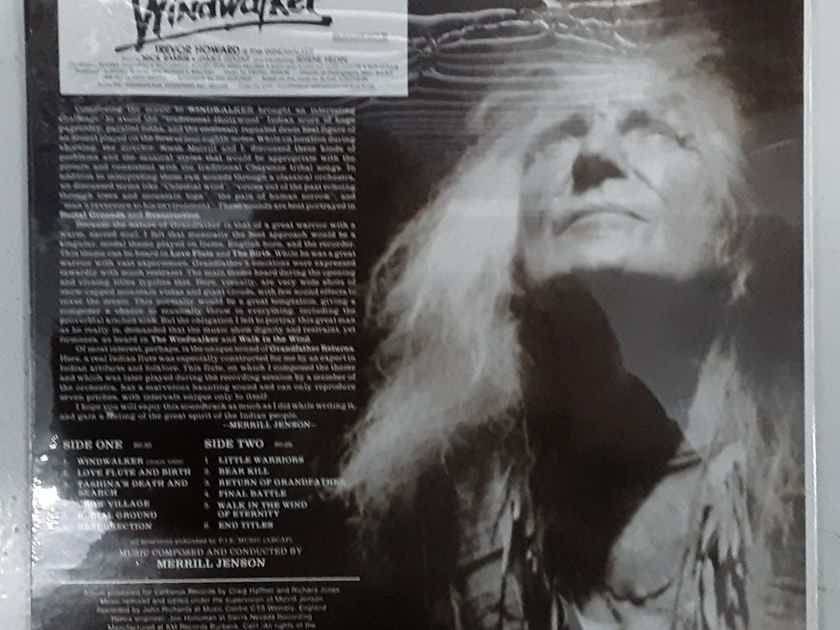 Merrill Jenson  Windwalker (The Original Soundtrack Album) MINT / SEALED 1981 Vinyl LP Cerberus Records CST 0202