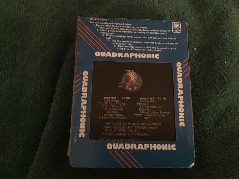 Cat Stevens  Greatest Hits A & M Records Quad 8 Track