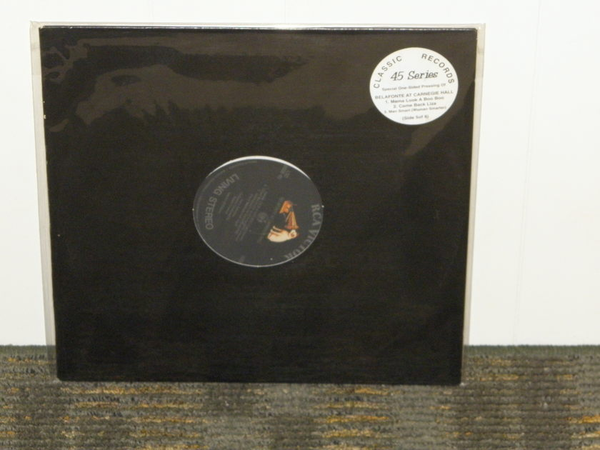 "Harry Belafonte - ""Belafonte At Carnegie Hall"" Disc 5 of 8 Classic Recs 45RPM!!!"
