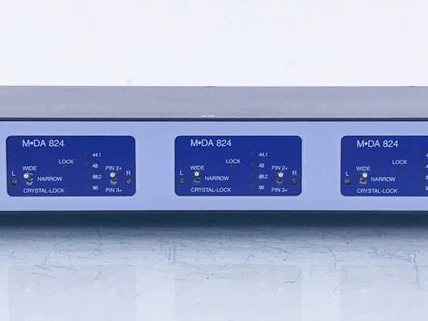 db Technologies dB-4496 DAC D/A Converter; M-DA 824 (14470)