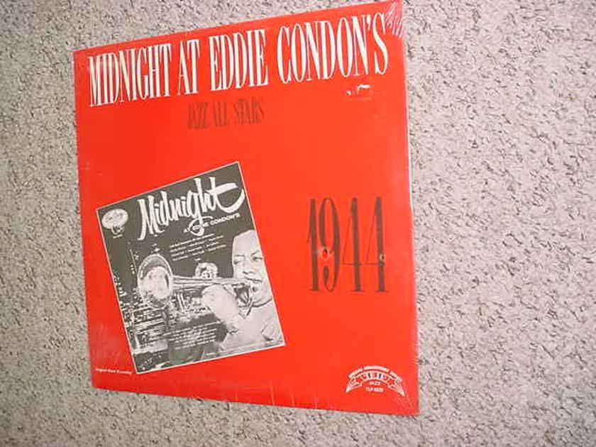 SEALED LP RECORD - Midnight at Eddie Condons jazz all stars 1944  TRIP JAZZ TLP-5529 Collectors series