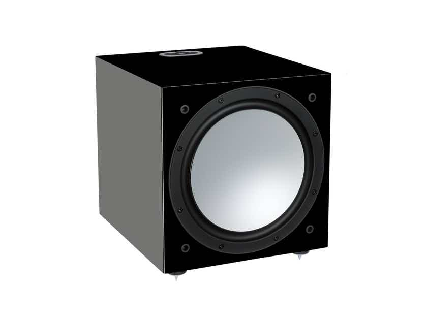 Monitor Audio Silver W12 Subwoofer (6G - Black Gloss): EXCELLENT B-Stock; 3 Year acX Wrnty*; 40% Off; Free Shipping