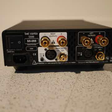 S500 Dual Mono Amplifier