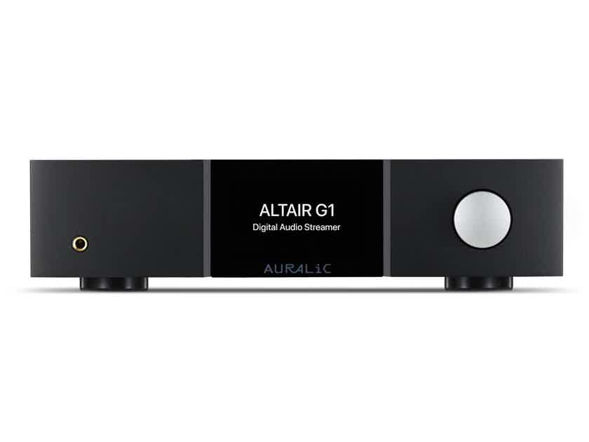 Auralic Altair G1 Wireless server with 2TB solid state drive installed
