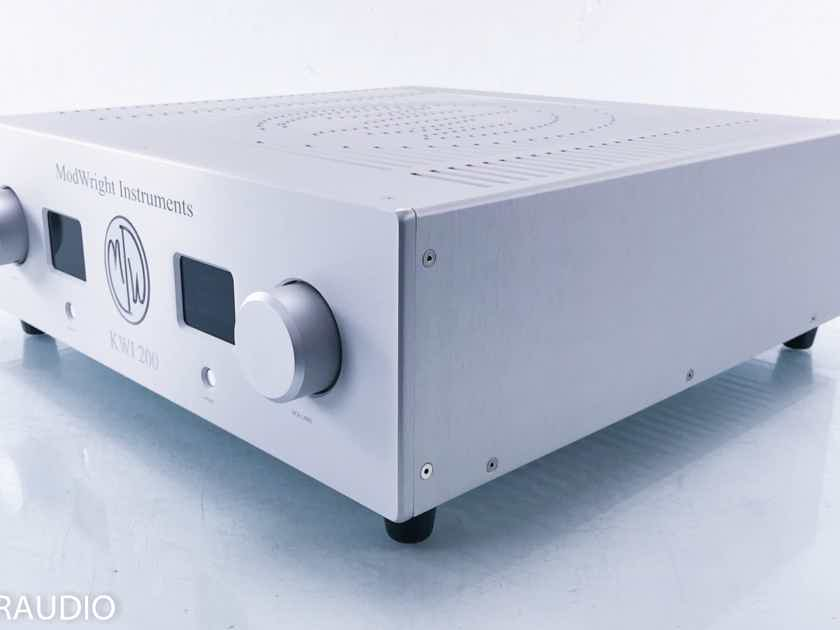 Modwright KWI 200 Stereo Integrated Amplifier  (12897)