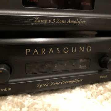Parasound ZAMP v3 w/ Z-pre2 preamp