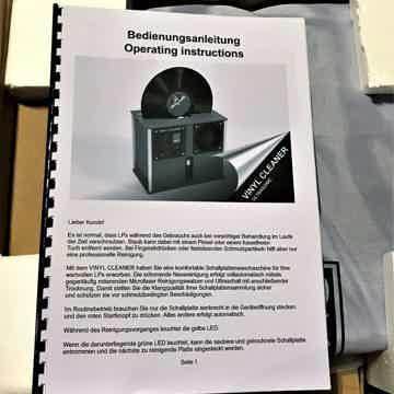 Audiodesksysteme Glass Ultrasonic VINYL RECORD CLEANER