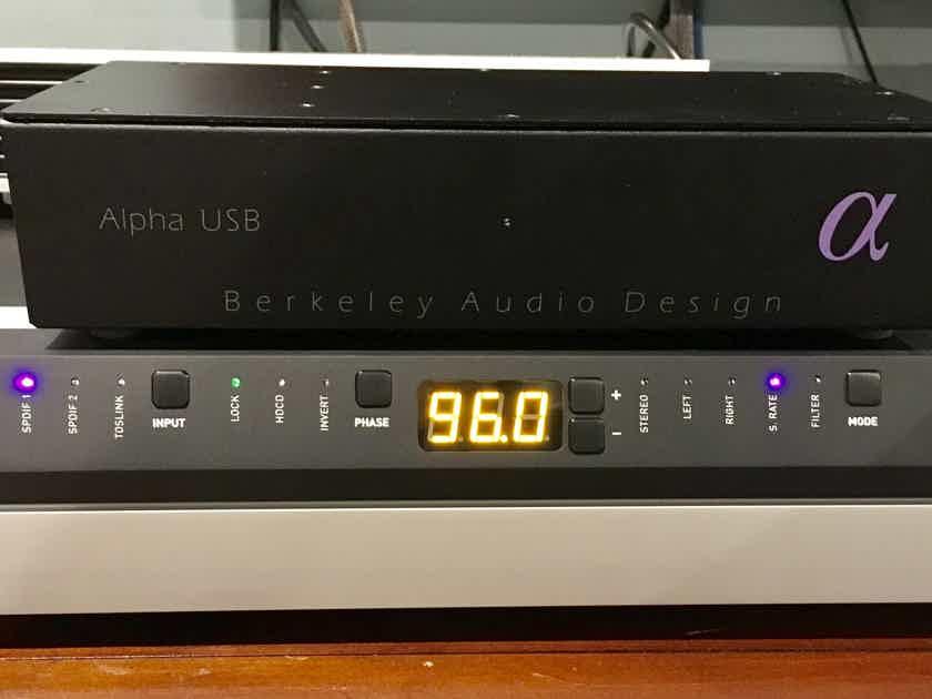 Berkeley Audio Design alpha USB - Worldclass