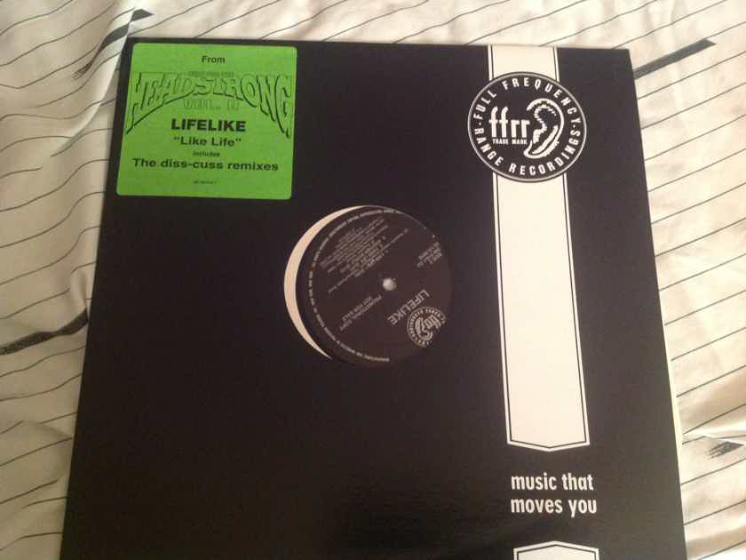 Lifelike Like Life FFRR Records 12 Inch 5 Track EP