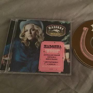 Madonna Australia Version Bonus Tracks  Music