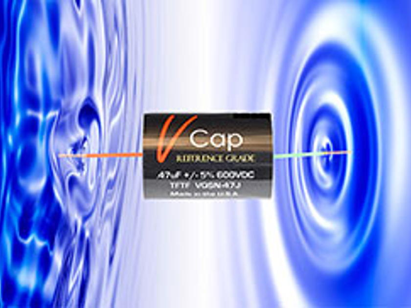 V-Cap CuTF Copper Foil & Fluoropolymer Film Capacitors