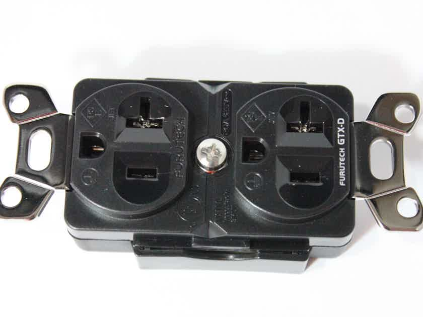Furutech GTX-D (R) duplex outlet - 2 units