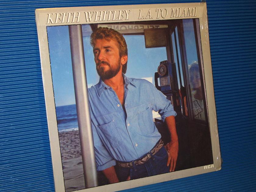 """KEITH WHITLEY   - """"LA to Miami"""" -  RCA 1985 SEALED"""