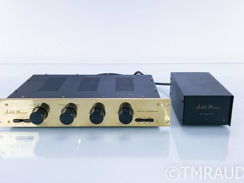 Audible Illusions Modulus 3A Stereo Tube Preamplifier; M3A; MM Phono (17279)