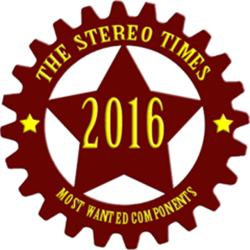 StereoTimes Most Wanted Compoenent Award 2016