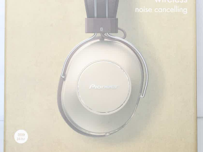 Pioneer SE-MS9BN / S9 Gold Wireless Noise-Cancelling Headphones. Brand NEW!