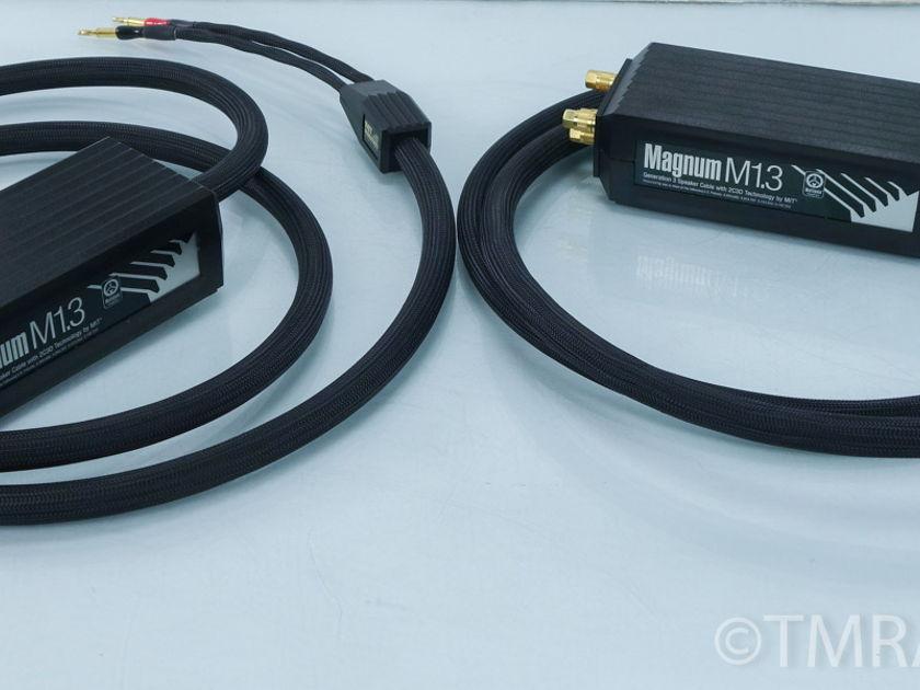 MIT Magnum M1.3 Bi-wire Speaker Cables; 10ft. Pair (7955)