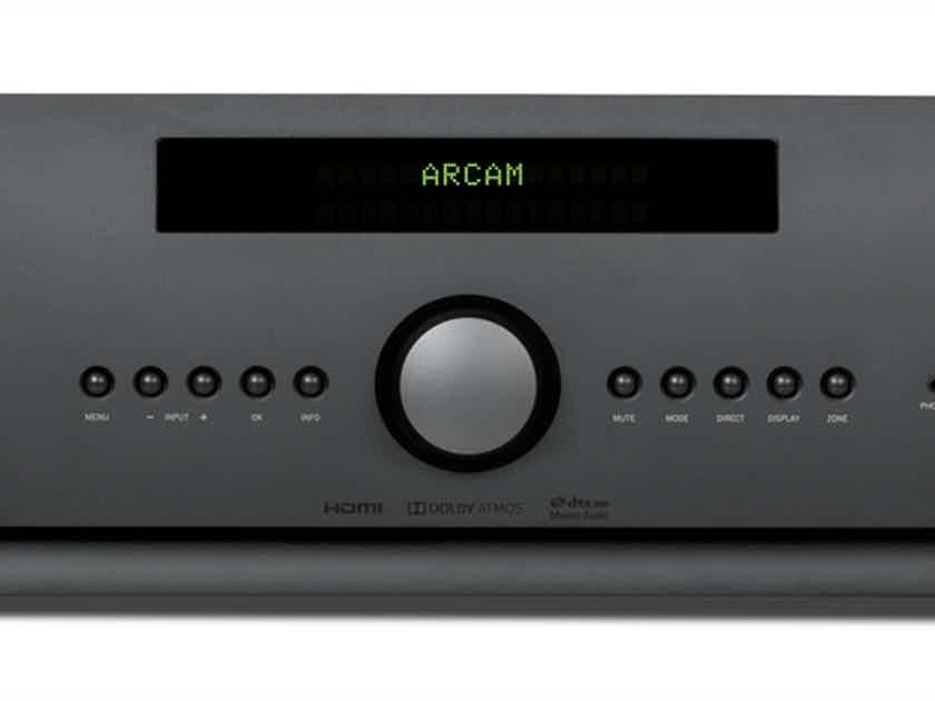 ARCAM FMJ AVR850  AV Receiver (Black): Excellent DEMO; Full Warranty; 50% Off; Free Shipping
