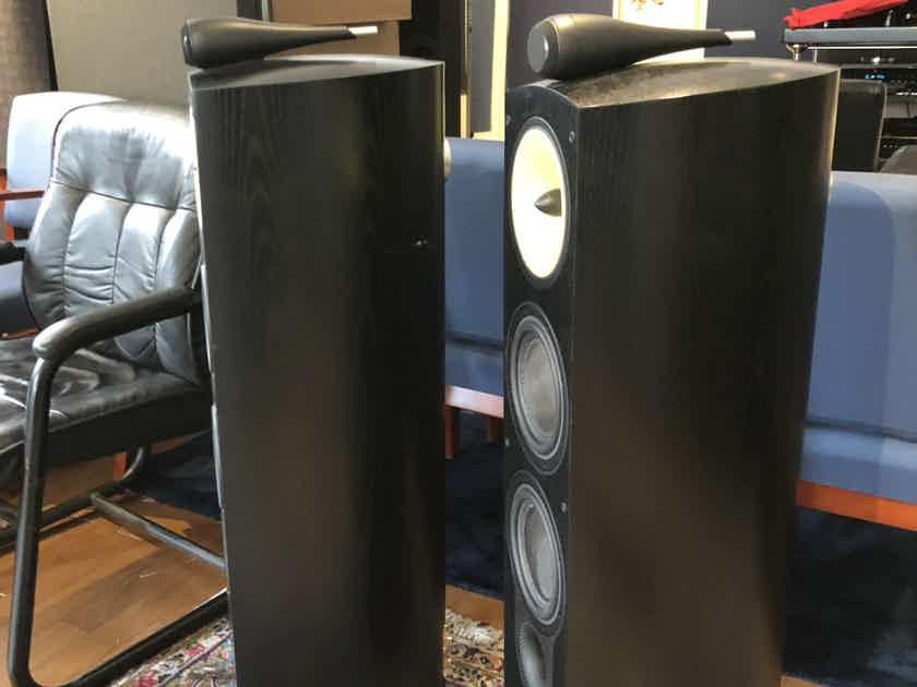 B&W (Bowers & Wilkins) Nautilus 804N Speakers in Black