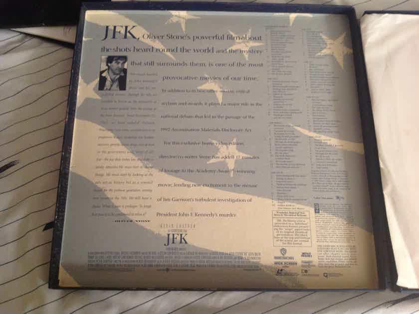 Kevin Costner JFK Limited Edition Director's Cut 5 Disc Box CAV
