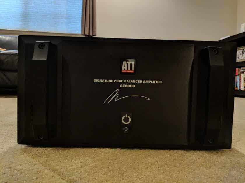 ATI AT-6005 Signature 5x300 multi channel amplifier