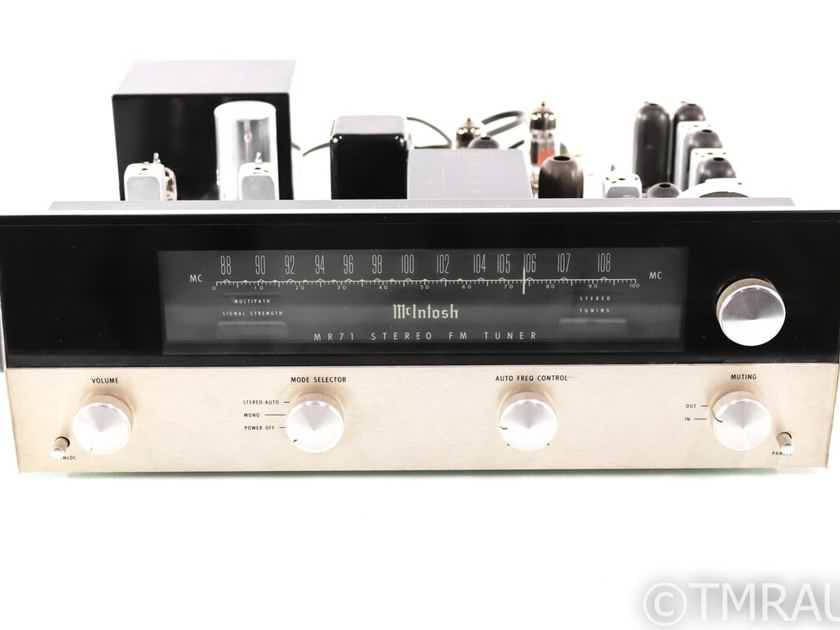McIntosh MR71 Vintage Tube FM Tuner; MR-71 (27695)
