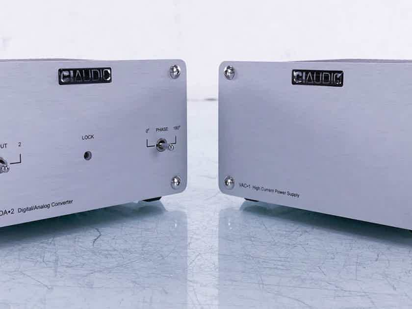 Channel Islands Audio VDA-2 DAC w/ VAC-1 PSU D/A Converter; CIAudio (15000)
