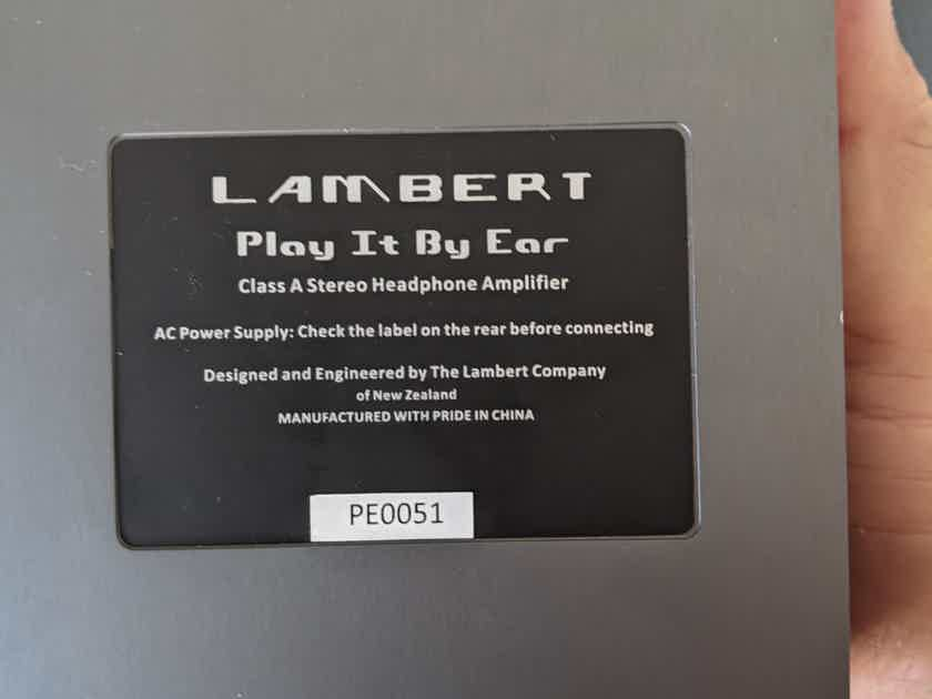 Lambert  Play it by Ear headphone amplifier