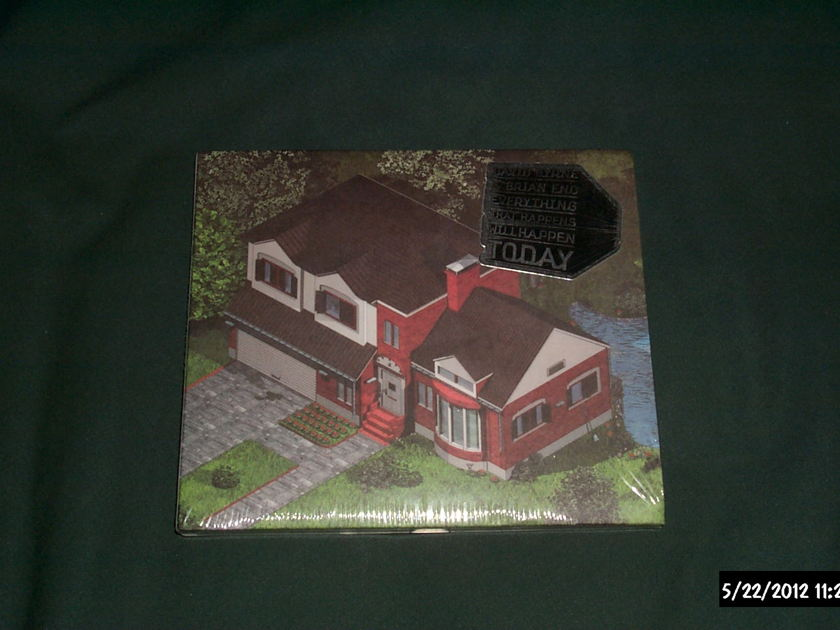 Brian Eno/David Byrne - Everything That Happens Will Happen Today Sealed CD