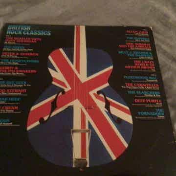 Various The Beatles The Kinks Elton John Deep Purple  British Rock Classics