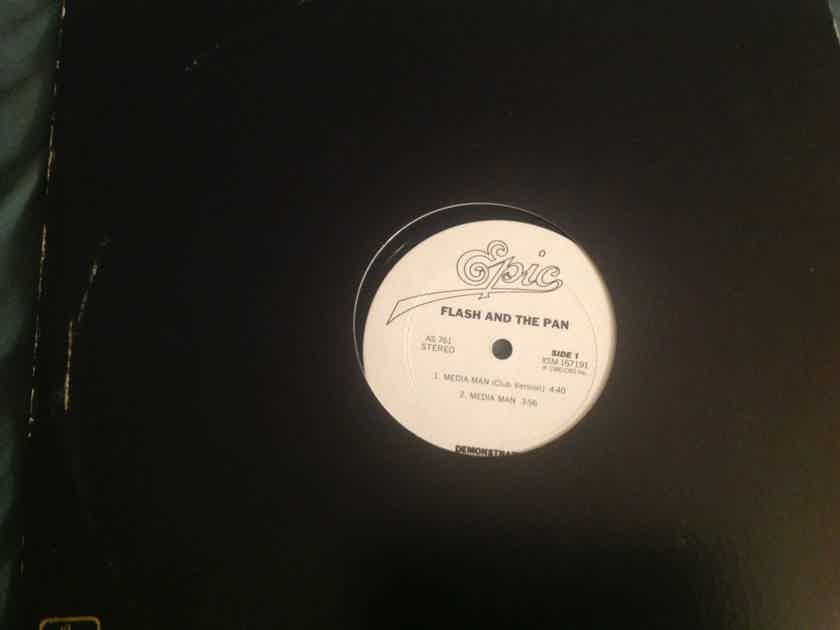 Flash And The Pan Media Man(Club Version) Epic Records 12 Inch Promo EP